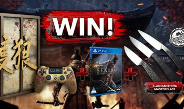 Win a one-of-a-kind Sekiro: Shadows Die Twice competition