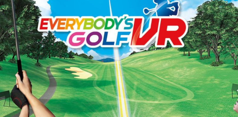 Everybody's Golf VR swings into your living room on 22 May
