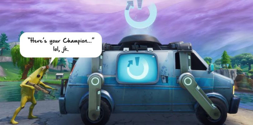 Fortnite borrows from Apex Legends with a Reboot Van