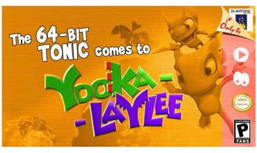 Yooka-Laylee's 64-Bit Tonic now available
