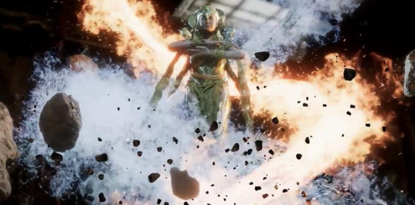 Cetrion brings the earth, wind, and fire to Mortal Kombat 11
