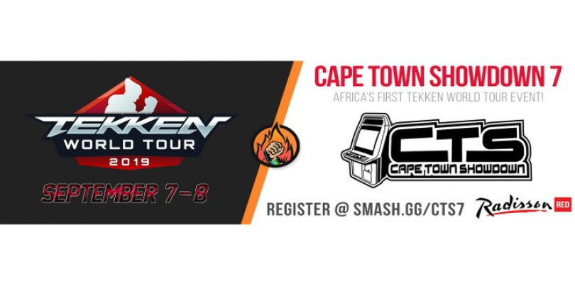 Tekken World Tour event Cape Town Showdown registration now open