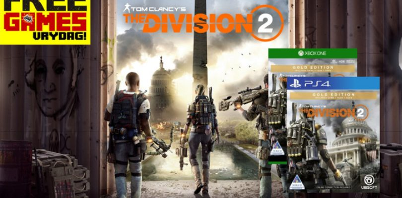 Free Games Vrydag: Tom Clancy's The Division 2 – Gold Edition (PS4 + XBO)