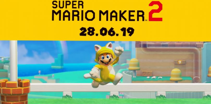 Super Mario Maker 2 now has a set release date