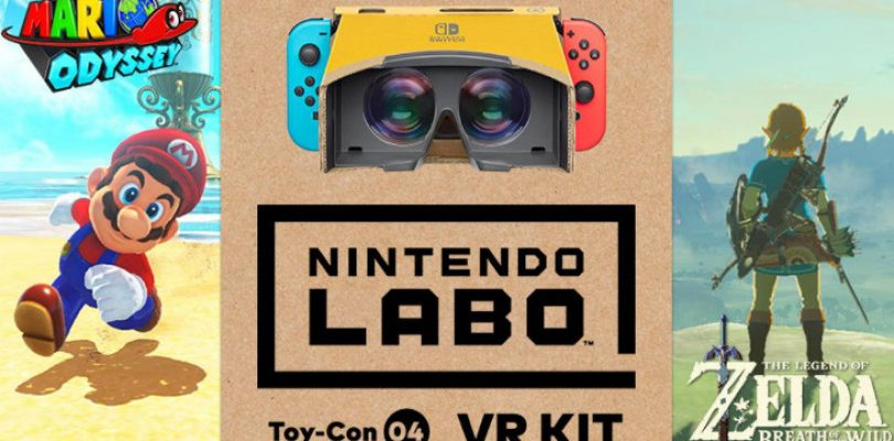 Super Mario Odyssey and LoZ Breath of the Wild to receive a VR mode