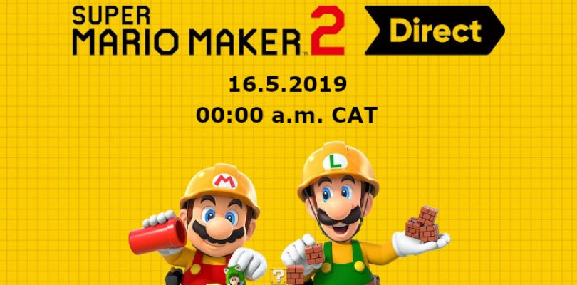 Super Mario Maker 2 Direct happening at midnight