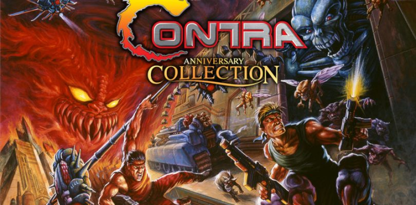 Here is the complete line-up for the Contra Anniversary Collection