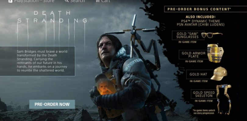 Death Stranding release date might be close, pre-order appears on PSN