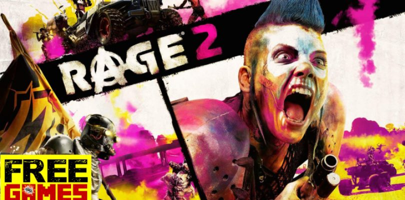 Free Games Vrydag: Rage 2 (PS4/Xbox One)