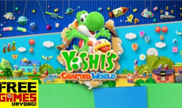 Free Games Vrydag: Yoshi's Crafted World (Switch)