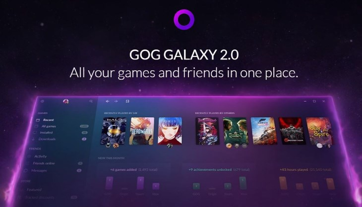 GOG is relaunching Galaxy as a unified game launcher - SA Gamer