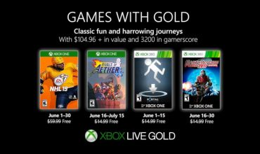 Oh puck! Here are your Games with Gold for June