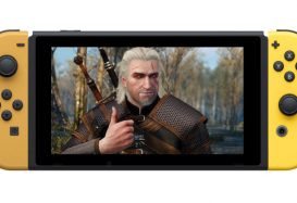 Here's 25 minutes of The Witcher 3 running on the Switch