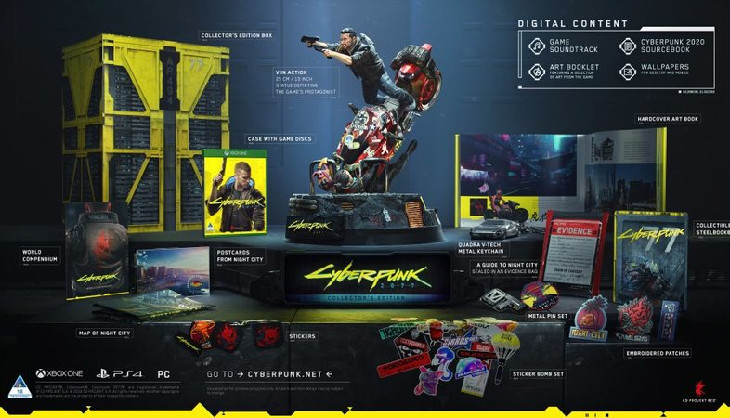 Cyberpunk 2077 CE is up for pre-order now and it's real sexy
