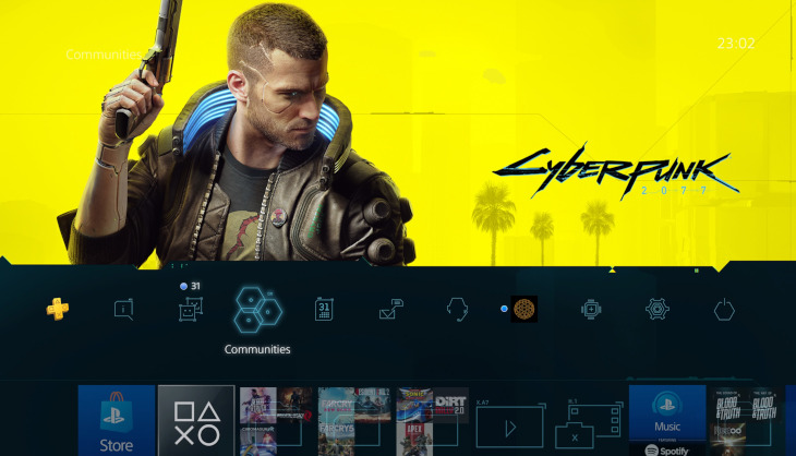 Claim your free Cyberpunk 2077 theme on PS4 right now - SA Gamer