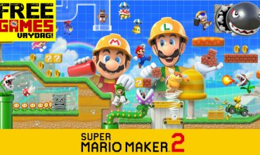 Free Games Vrydag: Super Mario Maker 2 (Switch)