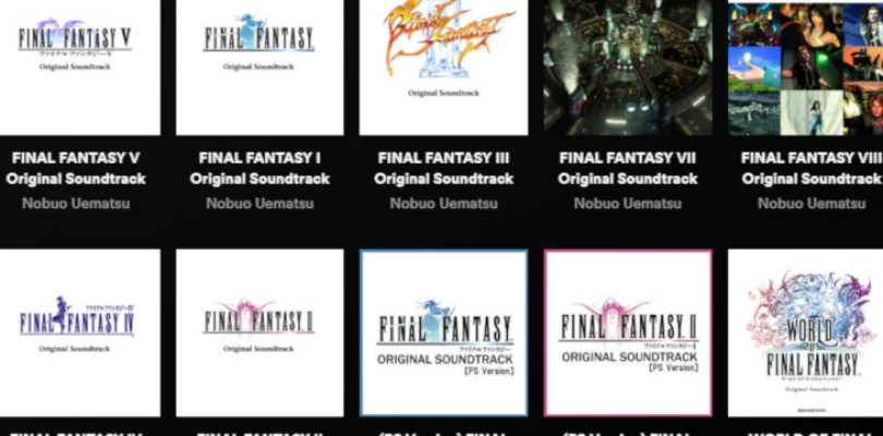 All the Final Fantasy OSTs have just been added to Spotify and Apple Music