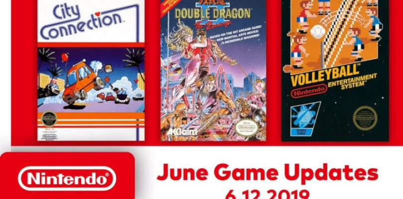 NES Switch games in June include Double Dragon II and City Connection