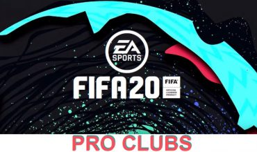 EA provides details on updated Pro Clubs mode for FIFA20