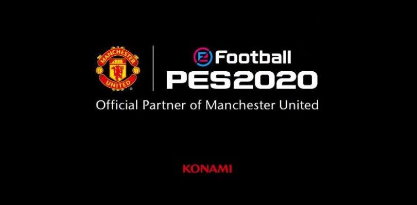 PES announces 2020 partnership with Manchester United