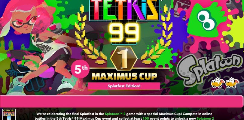 Tetris 99 is getting a little more 'splattery'…