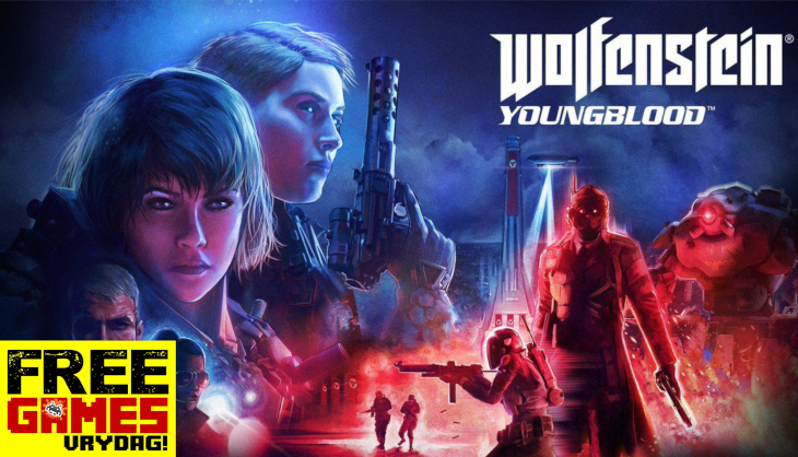 Free Games Vrydag: Wolfenstein: Youngblood (PS4/Switch/Xbox One