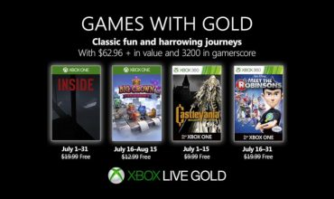 Get inside a big crown with Games with Gold in July