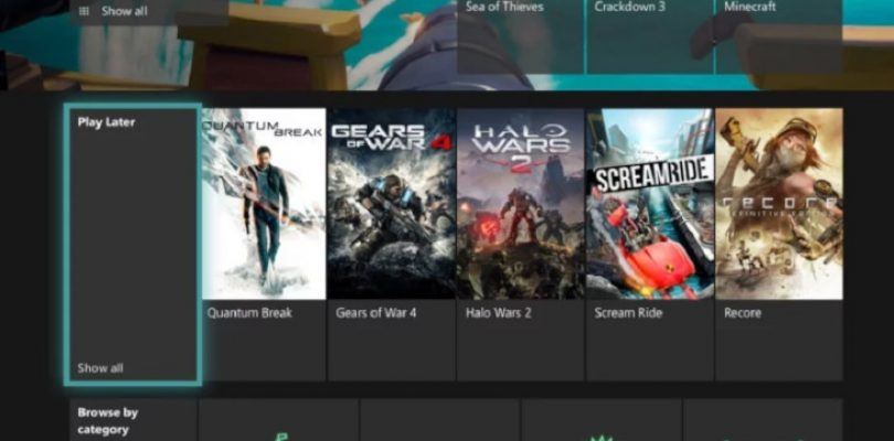 A Play Later feature has been added to Xbox Game Pass