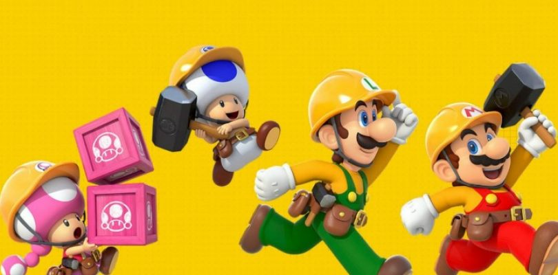 Super Mario Maker 2 adds the ability to make your own worlds!