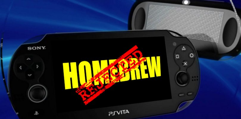 The Vita just got a firmware update in an attempt to stop the homebrew scene