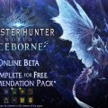 Additional betas incoming – MHW: Iceborne
