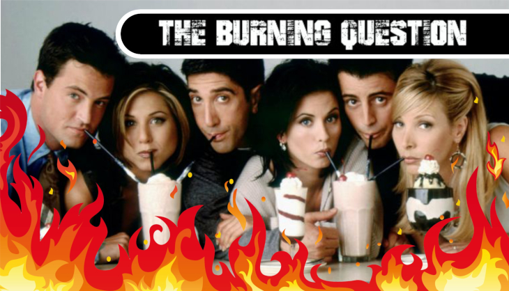 The Burning Question: How many real-world friends did you