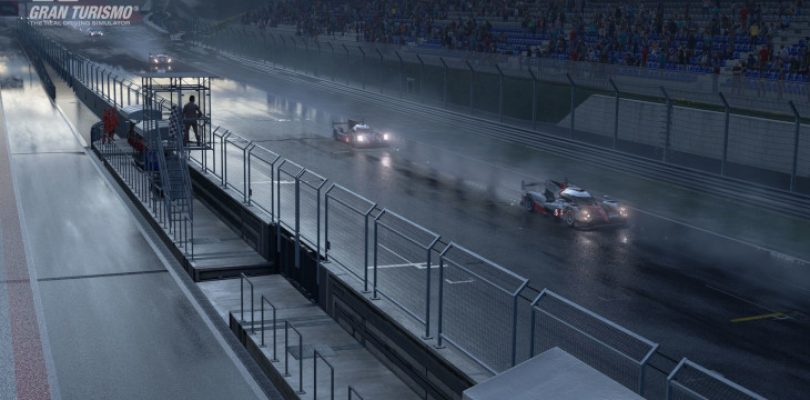 Rain finally arrives in GT Sport
