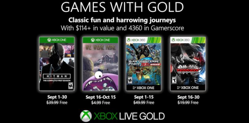 Become a hitman in Games with Gold in September