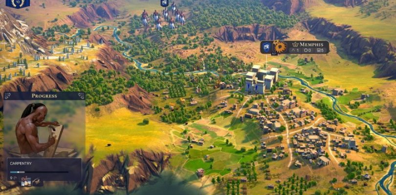Amplitude reveals Humankind, a turn-based strategy about rewriting history