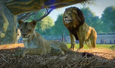 See Planet Zoo's first level and marvel at the systems and animals