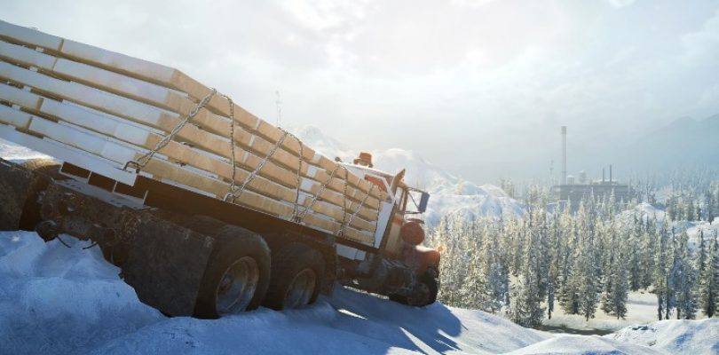 Hardcore transportation sim sequel SnowRunner revealed
