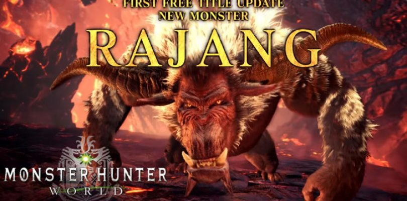 Another ferocious addition to the MHW: Iceborne roster – Rajang