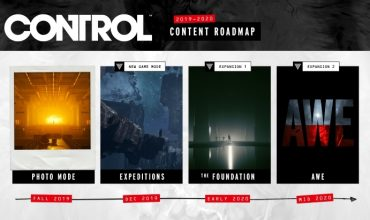 Control's roadmap includes two expansions