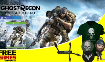 Free Games Vrydag: Ghost Recon Breakpoint (PS4 / Xbox One)