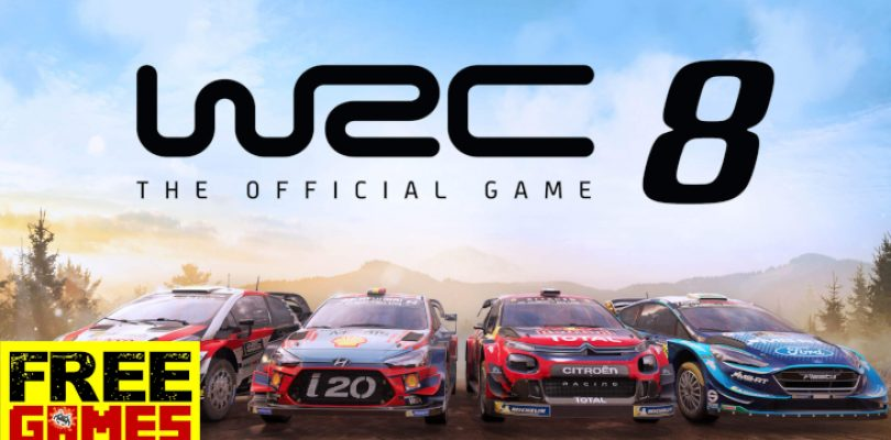 Free Games Vrydag: WRC 8 (PS4 / Xbox One)