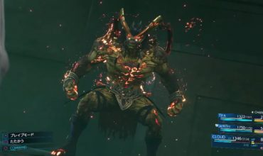 Get a look at the first summon in Final Fantasy VII Remake, Ifrit
