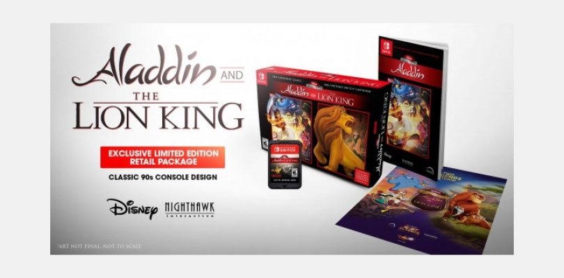 Disney's Aladdin and The Lion King will have some amazing limited edition versions