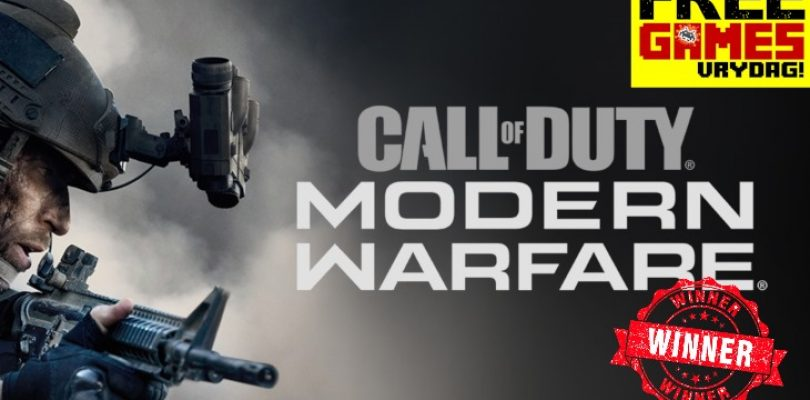 FGV winner getting the Call of Duty – and our weekly wrap up!