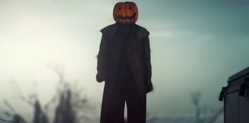 Even Agent 47 is in the Halloween mood