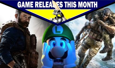 Game releases for October 2019 – With predictions!