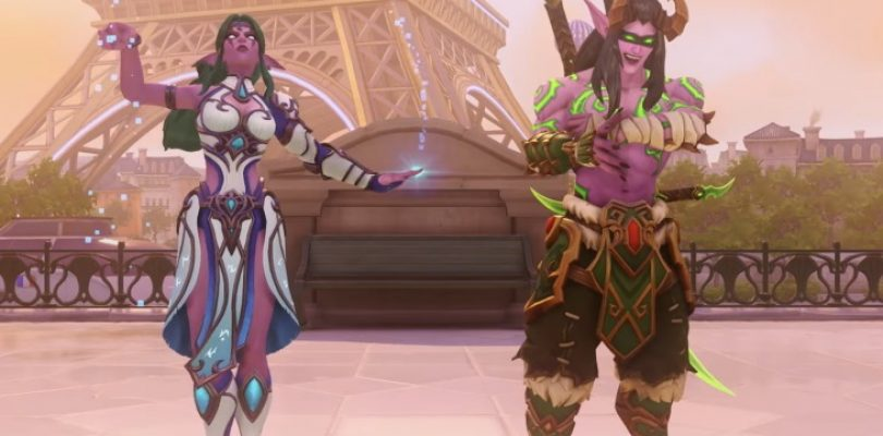 BlizzCon's virtual ticket goodies will bring some WoW love to Overwatch