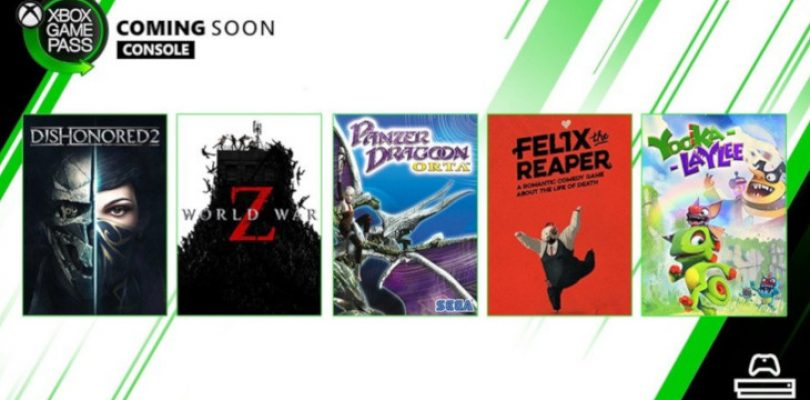 Dishonored 2, World War Z and more heading to Xbox Game Pass