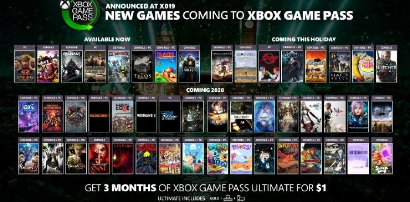 Xbox Game Pass just keeps getting better with 50 new titles