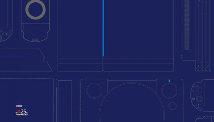 Sony celebrates 25 years of PlayStation with some Custom Wallpaper